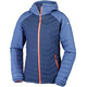 Columbia Powder Lite Hooded Jacket Women Nocturnal/Bluebell